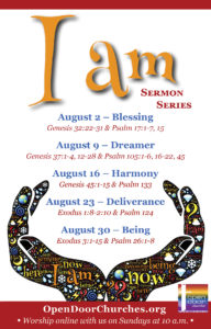 I am Sermon Series Poster 4 by 6